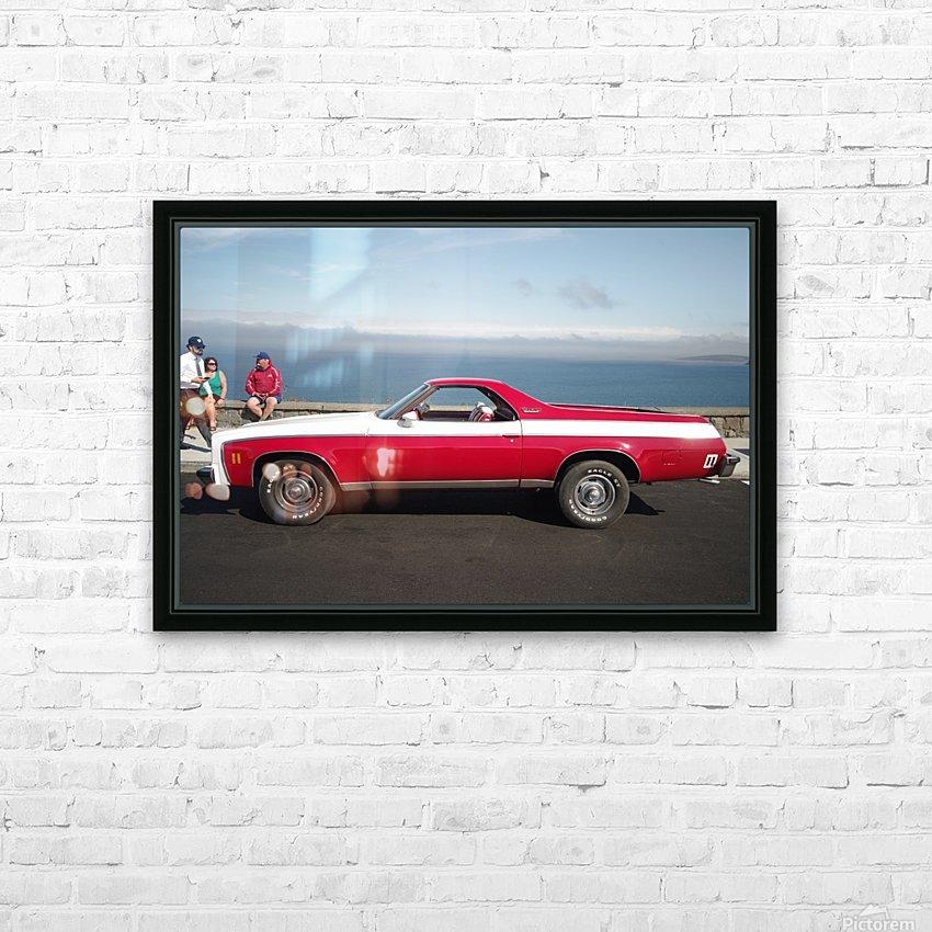 GMC Sprint Utility Pickup coupe combo HD sublimation métal imprimé avec décoration flotteur cadre (boîte)