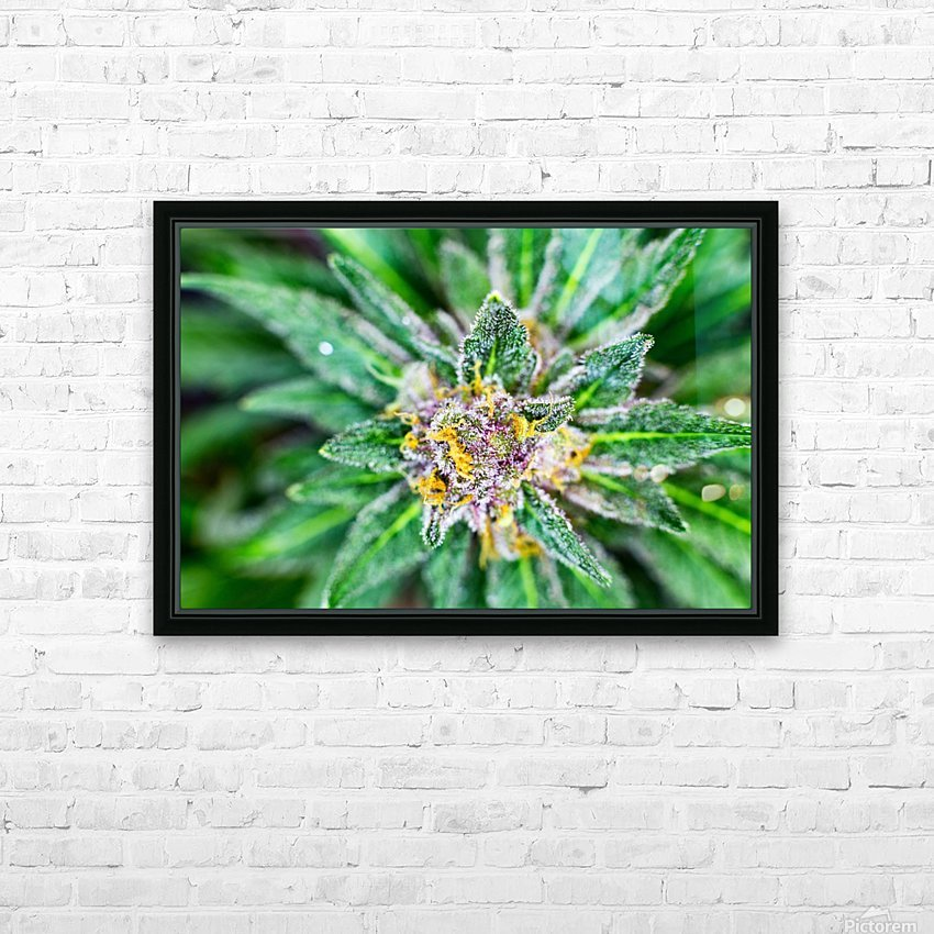 PurpleRain HD Sublimation Metal print with Decorating Float Frame (BOX)