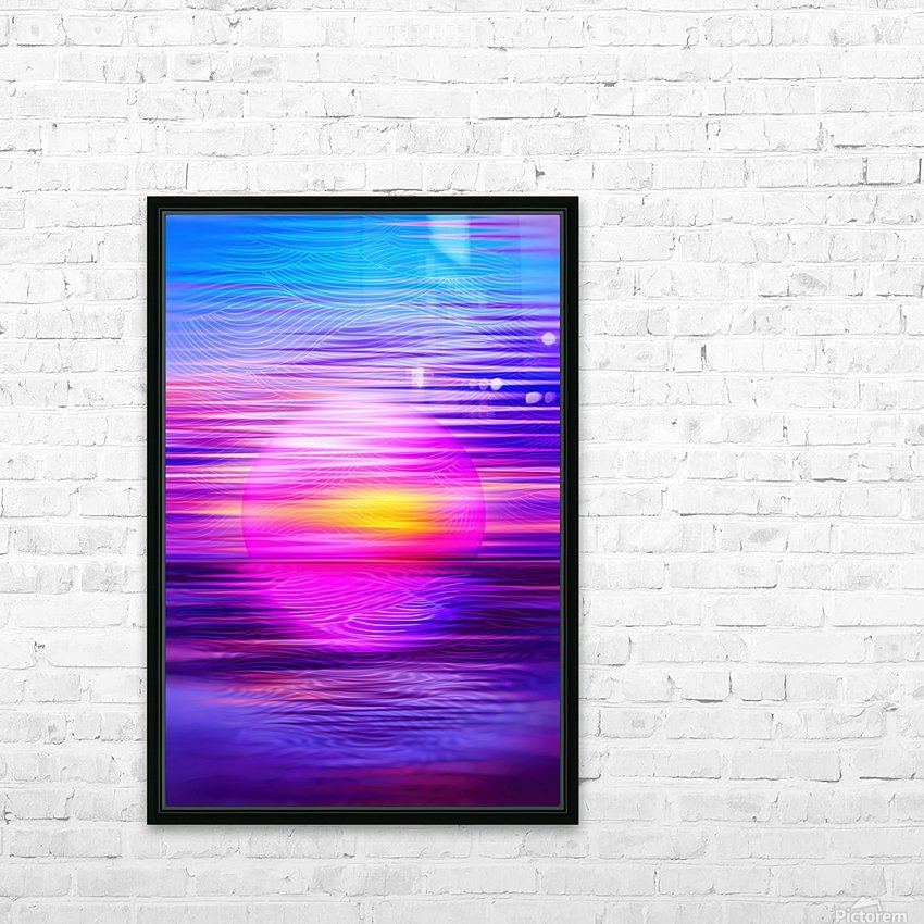 PR00281238_HD HD Sublimation Metal print with Decorating Float Frame (BOX)