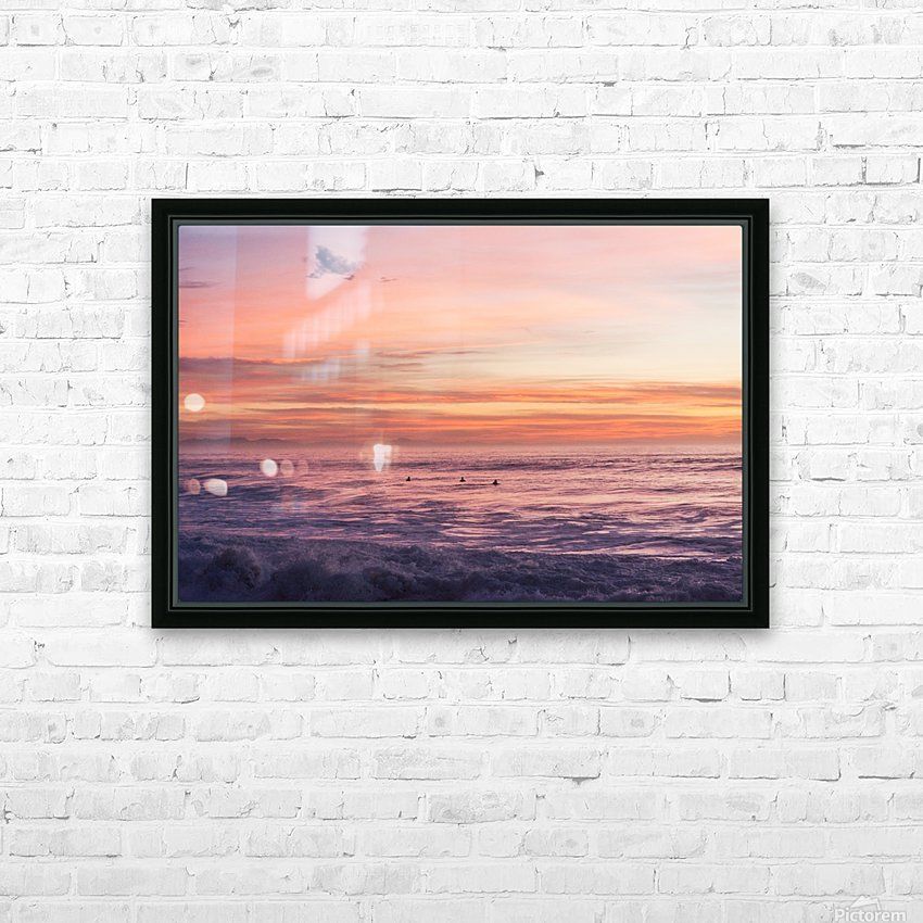 HOSSEGOR MAGIC HD Sublimation Metal print with Decorating Float Frame (BOX)