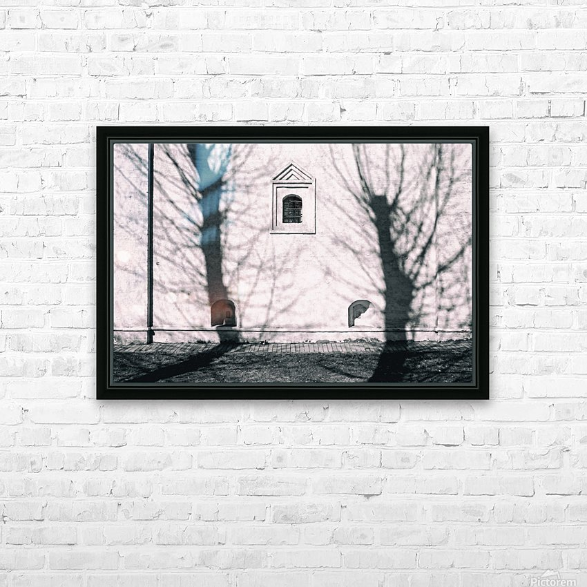 From the Past  HD Sublimation Metal print with Decorating Float Frame (BOX)