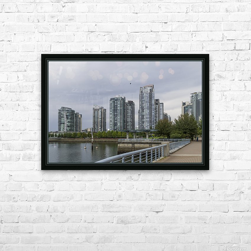 Vancouver  8 HD Sublimation Metal print with Decorating Float Frame (BOX)