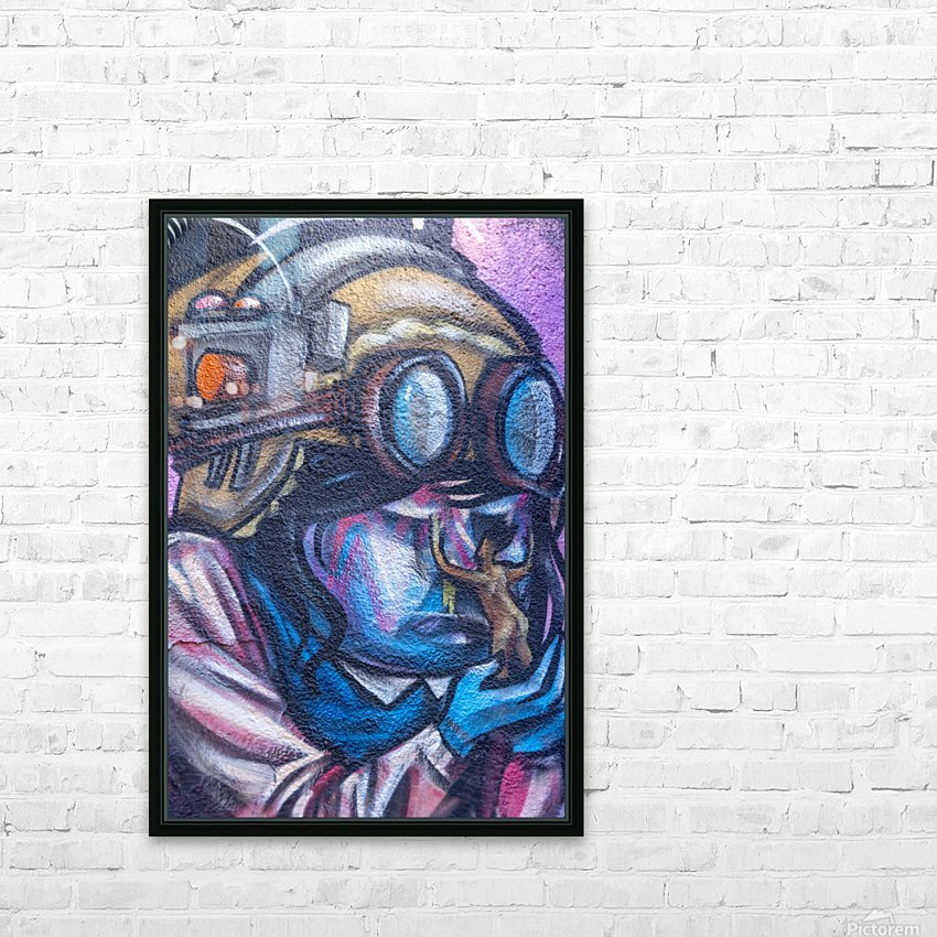 Torontos Graffiti Alley  4 HD Sublimation Metal print with Decorating Float Frame (BOX)