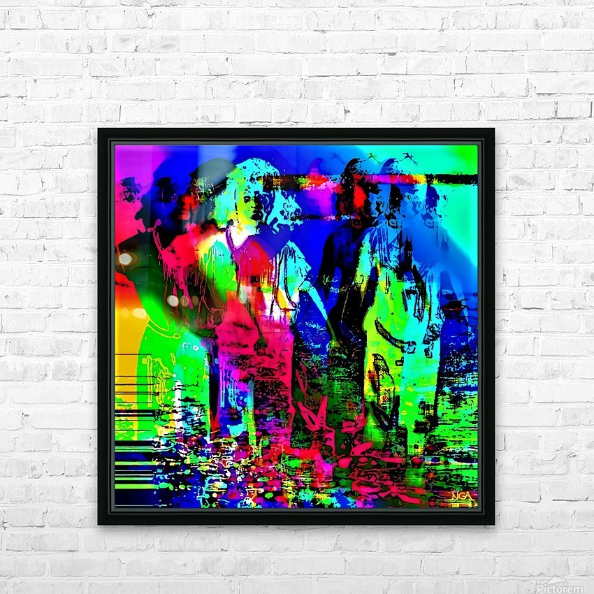 Strange Bedfellows -  by Neil Gairn Adams HD Sublimation Metal print with Decorating Float Frame (BOX)