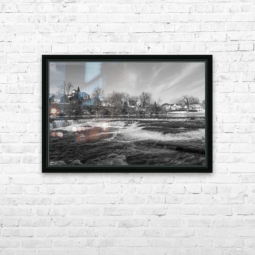Almonte Spring 4 b&w HD Sublimation Metal print with Decorating Float Frame (BOX)