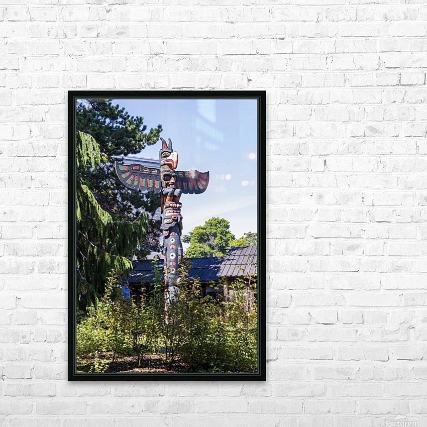 Totem Poles in Thunderbird Park Victoria BC 1 - Bob Corson - Canvas Artwork