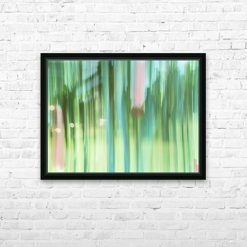Moving Trees 04 Landscape 52-70 HD Sublimation Metal print with Decorating Float Frame (BOX)