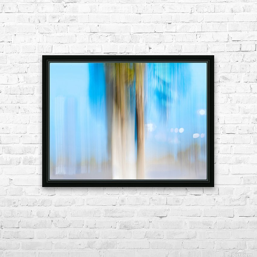 Moving Trees 13 Landscape 52 70 200px HD Sublimation Metal print with Decorating Float Frame (BOX)