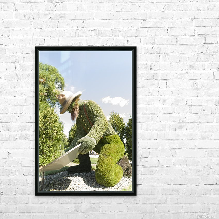 Yukons entry: The Prospector 1 HD Sublimation Metal print with Decorating Float Frame (BOX)