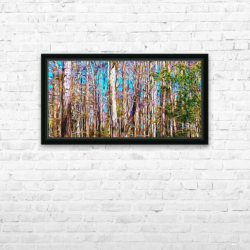 A Slice of Florida Trees HD Sublimation Metal print with Decorating Float Frame (BOX)
