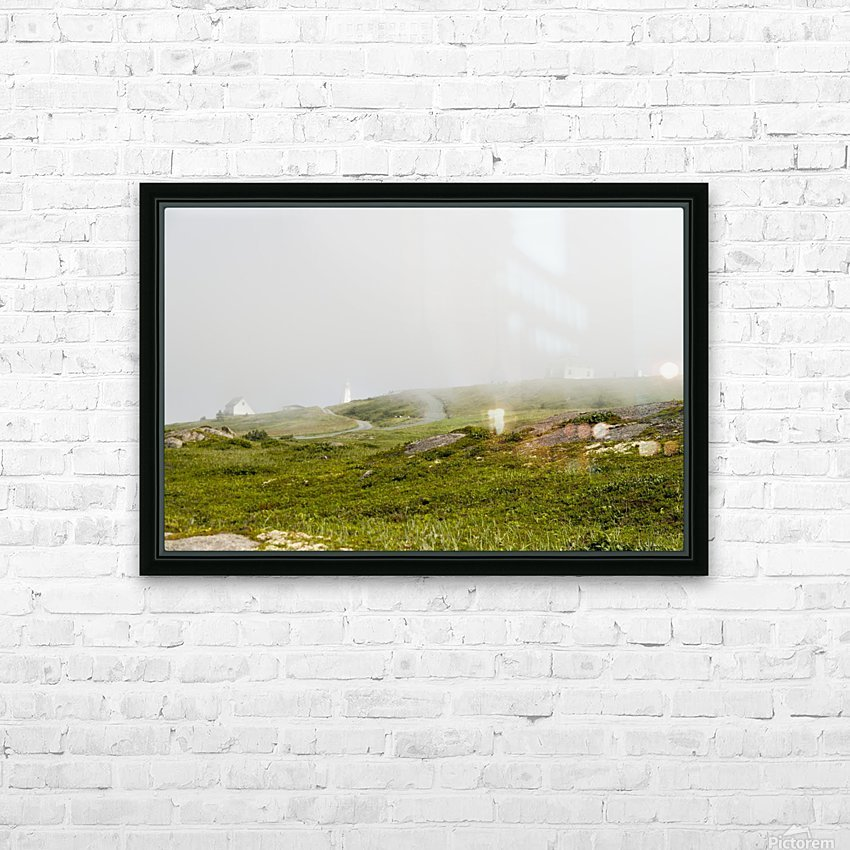 View from Cape Spear Walking trails 15 HD Sublimation Metal print with Decorating Float Frame (BOX)