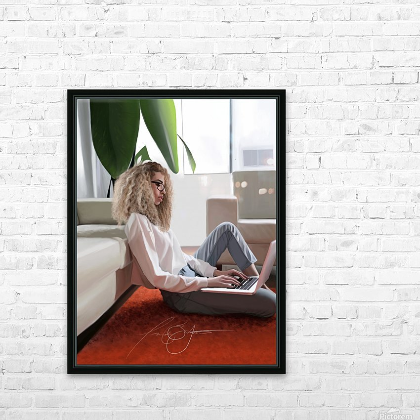 college dorm HD Sublimation Metal print with Decorating Float Frame (BOX)