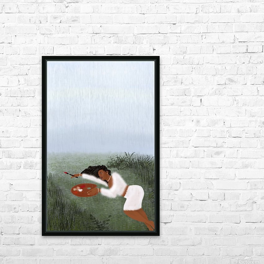 Freedom Painter HD Sublimation Metal print with Decorating Float Frame (BOX)