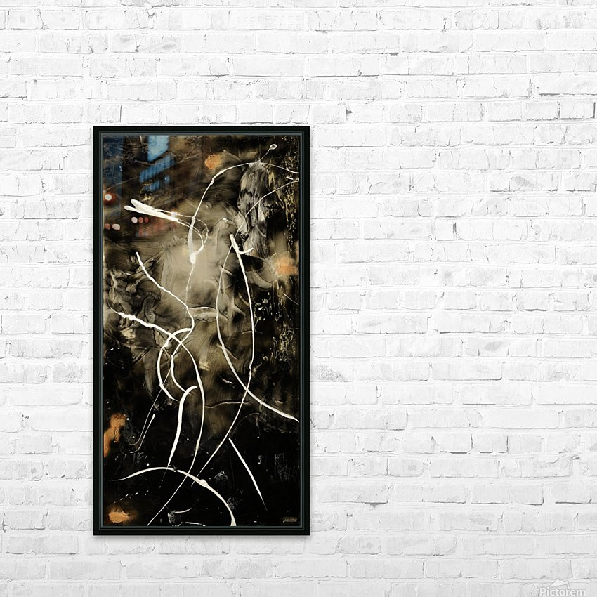 1126   beauty HD Sublimation Metal print with Decorating Float Frame (BOX)
