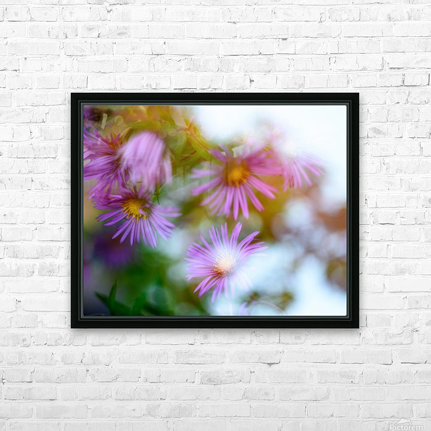 Fleur et ciel HD Sublimation Metal print with Decorating Float Frame (BOX)