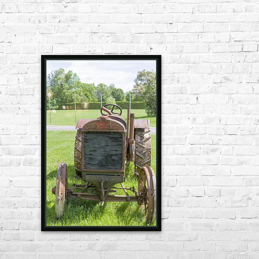McCormick-Deering gasoline tractor 1 HD Sublimation Metal print with Decorating Float Frame (BOX)
