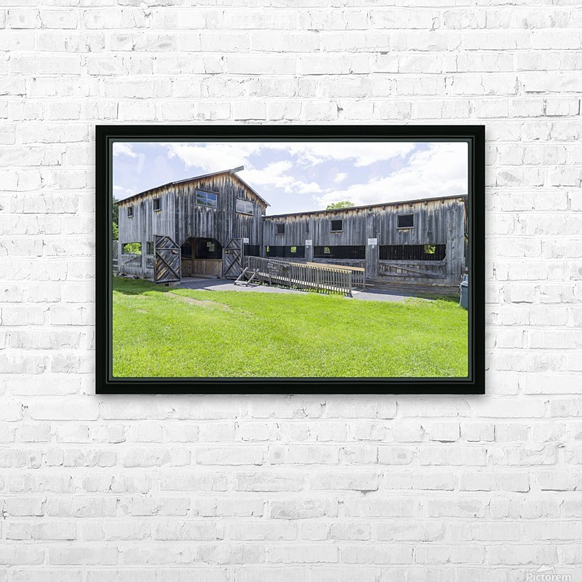 Replica Saw Mill 1 HD Sublimation Metal print with Decorating Float Frame (BOX)