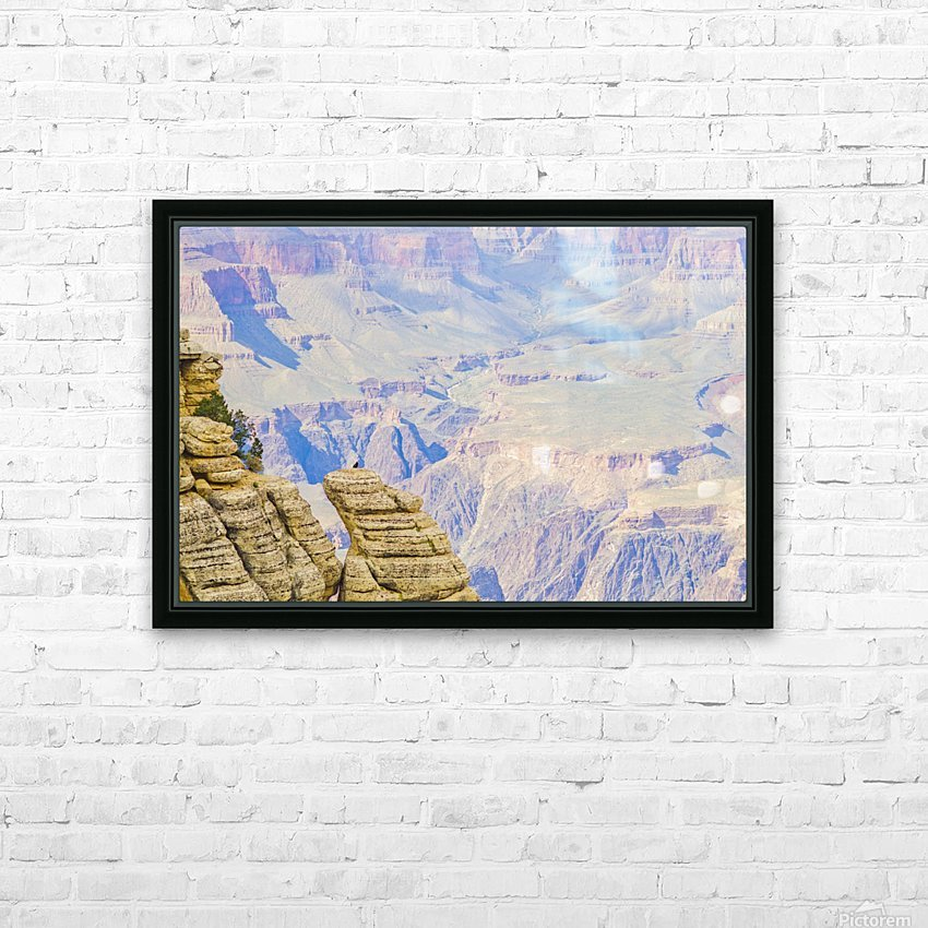 The Grand Canyon HD Sublimation Metal print with Decorating Float Frame (BOX)