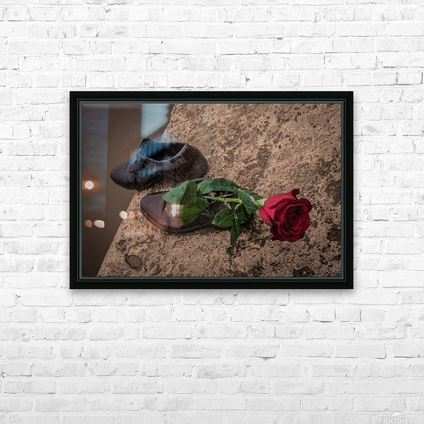 One Step  HD Sublimation Metal print with Decorating Float Frame (BOX)