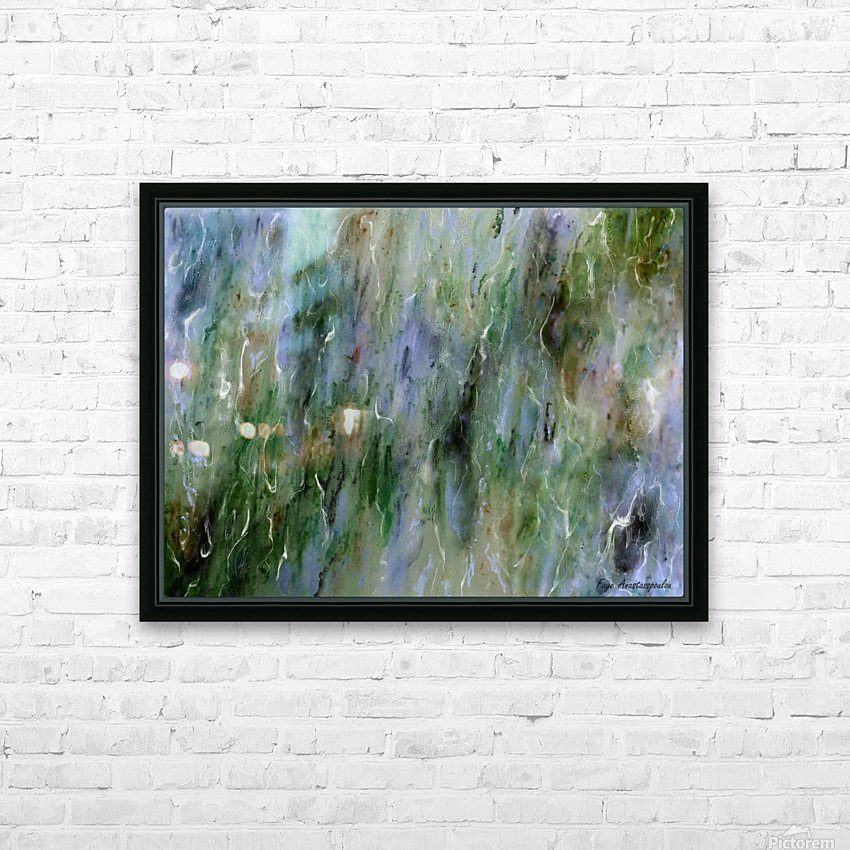 Withdrawn HD Sublimation Metal print with Decorating Float Frame (BOX)