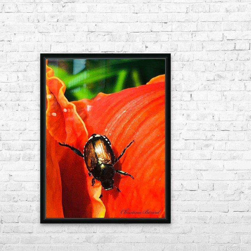 Christina Berard HD Sublimation Metal print with Decorating Float Frame (BOX)