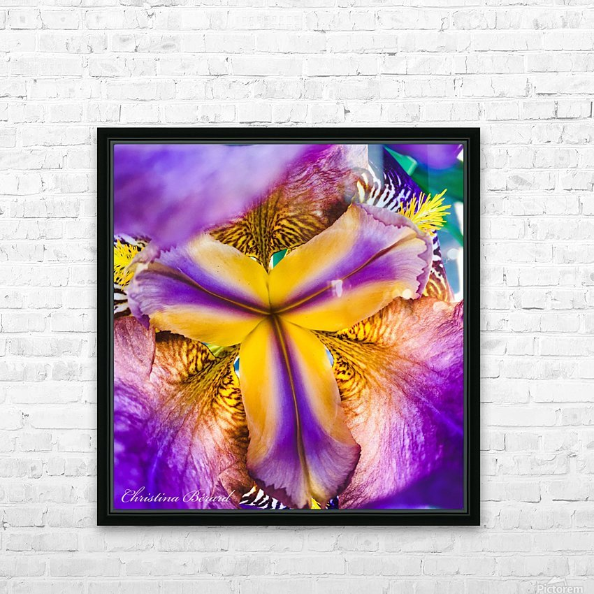 Thrive HD Sublimation Metal print with Decorating Float Frame (BOX)