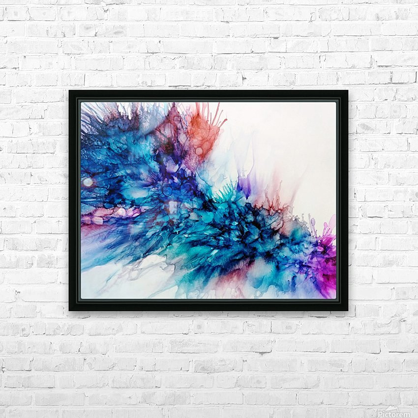 Lost in Emotion HD Sublimation Metal print with Decorating Float Frame (BOX)