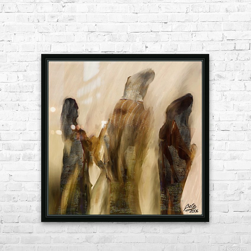 Pious HD Sublimation Metal print with Decorating Float Frame (BOX)