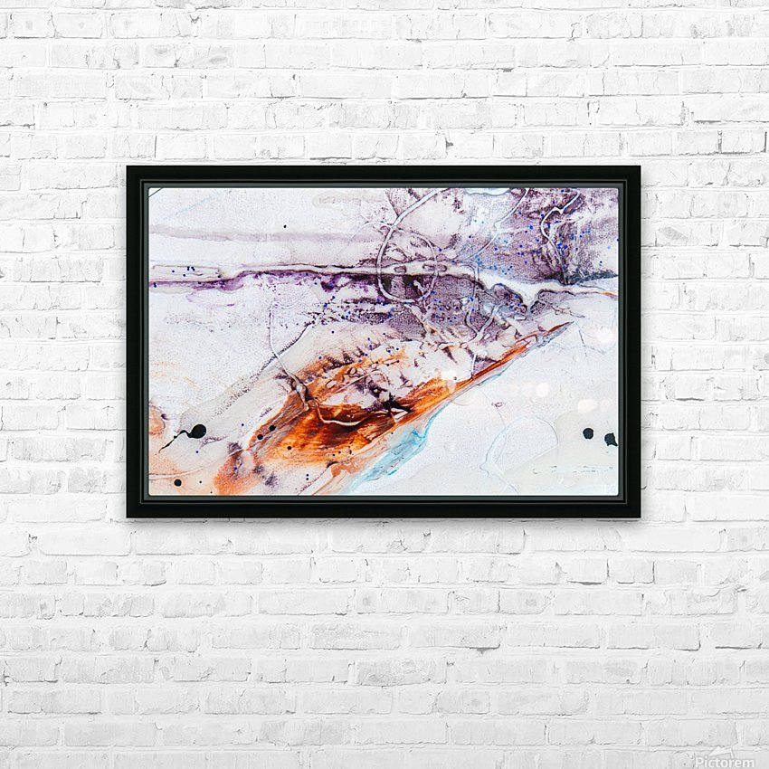 Sophia Cinq HD Sublimation Metal print with Decorating Float Frame (BOX)
