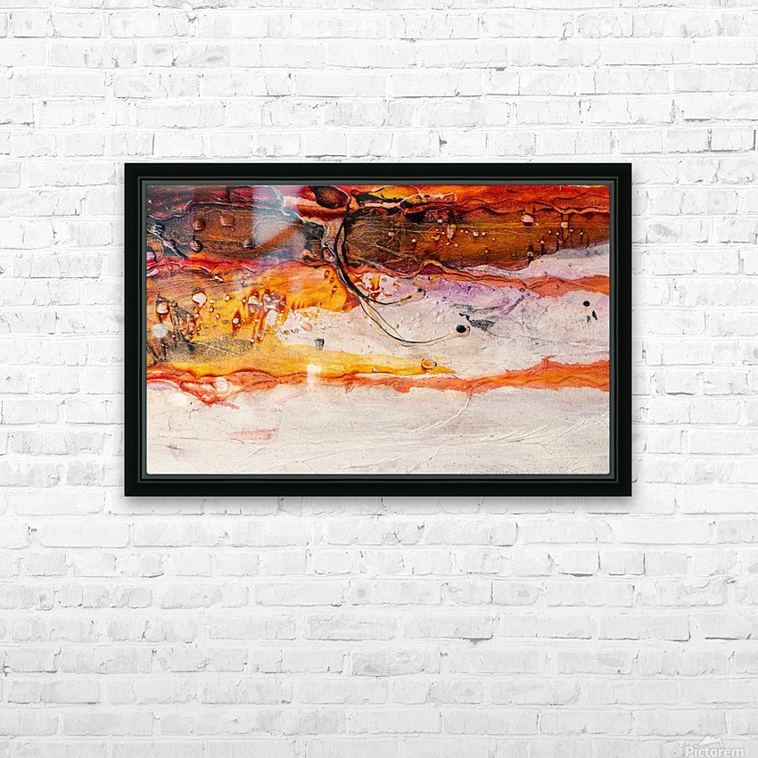 Sophia Huit HD Sublimation Metal print with Decorating Float Frame (BOX)