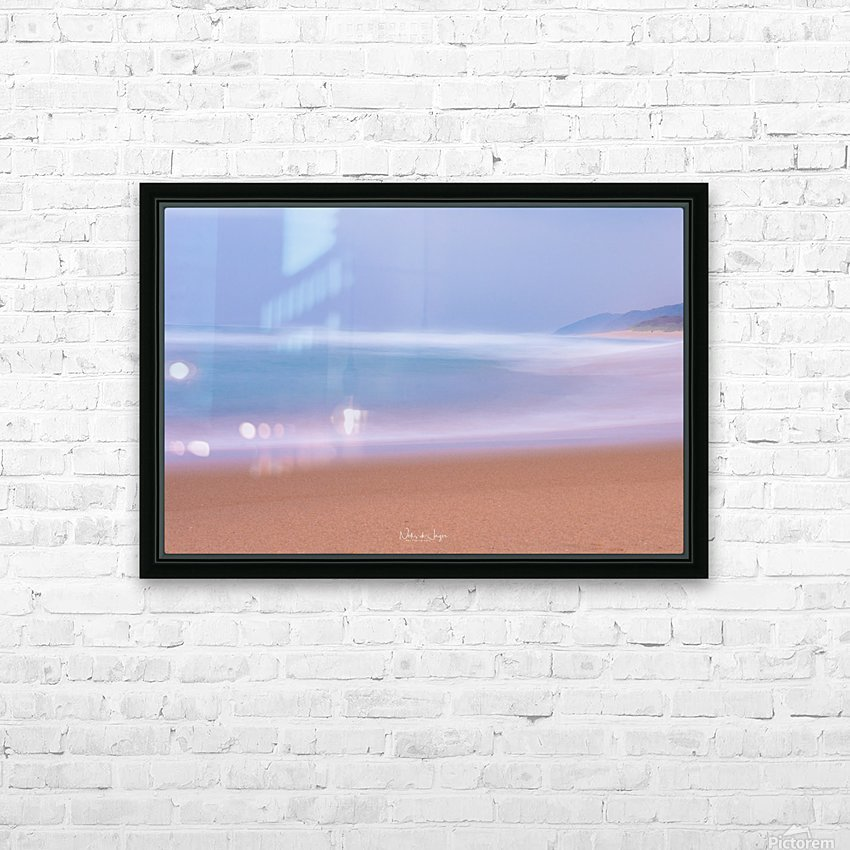 Seascape HD Sublimation Metal print with Decorating Float Frame (BOX)