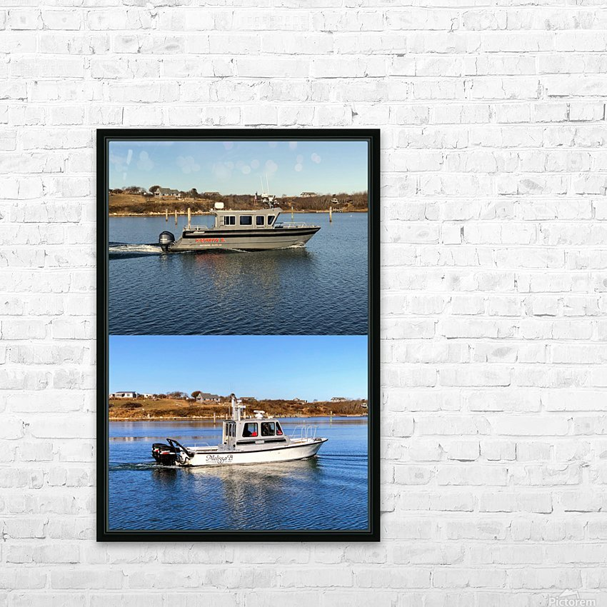 Cuttyhunk Vessels KMB 20x30 ACRYLIC 4 PRINT HD Sublimation Metal print with Decorating Float Frame (BOX)