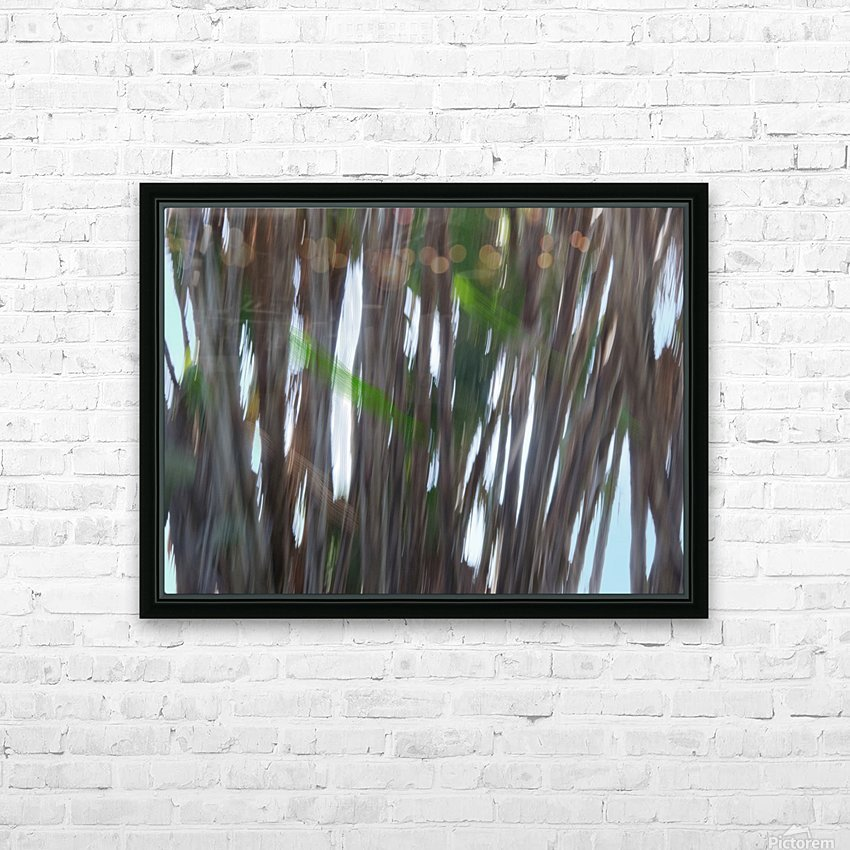Moving Trees 26 Landcape 52 70 200px HD Sublimation Metal print with Decorating Float Frame (BOX)