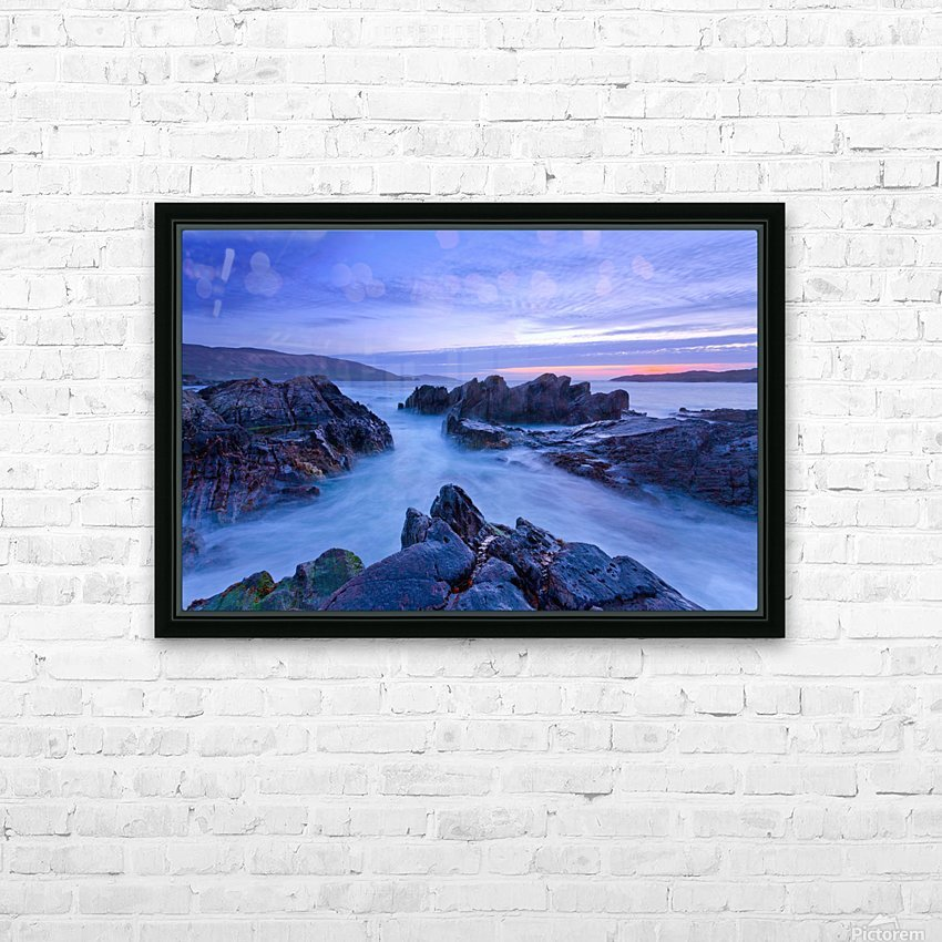 C 648 Beara Twilight HD Sublimation Metal print with Decorating Float Frame (BOX)
