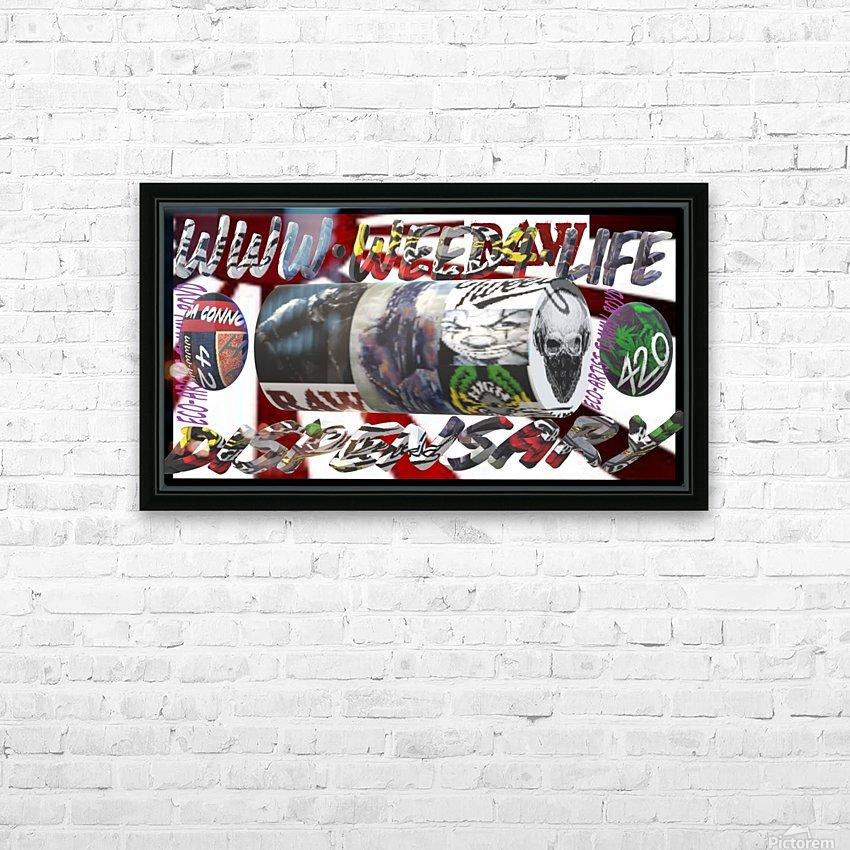 WORLDWIDEDISPENSARYWEBSITE HD Sublimation Metal print with Decorating Float Frame (BOX)