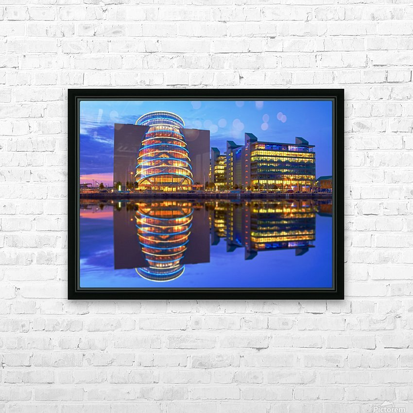 D 249 Convention Centre HD Sublimation Metal print with Decorating Float Frame (BOX)