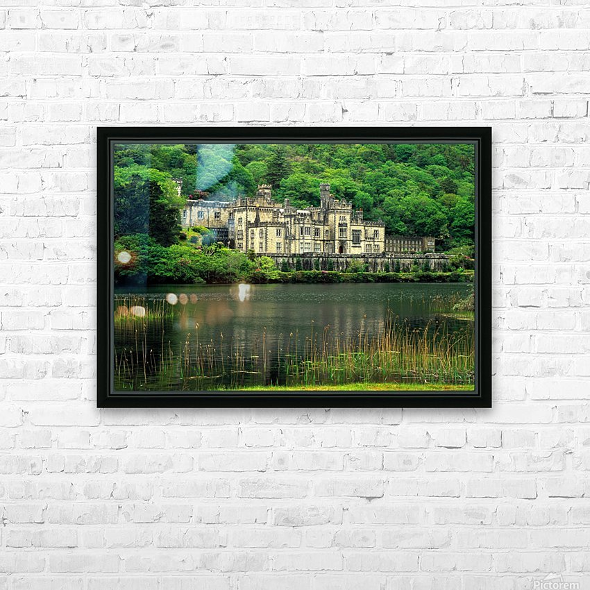 G 021 Kylemore Abbey HD Sublimation Metal print with Decorating Float Frame (BOX)