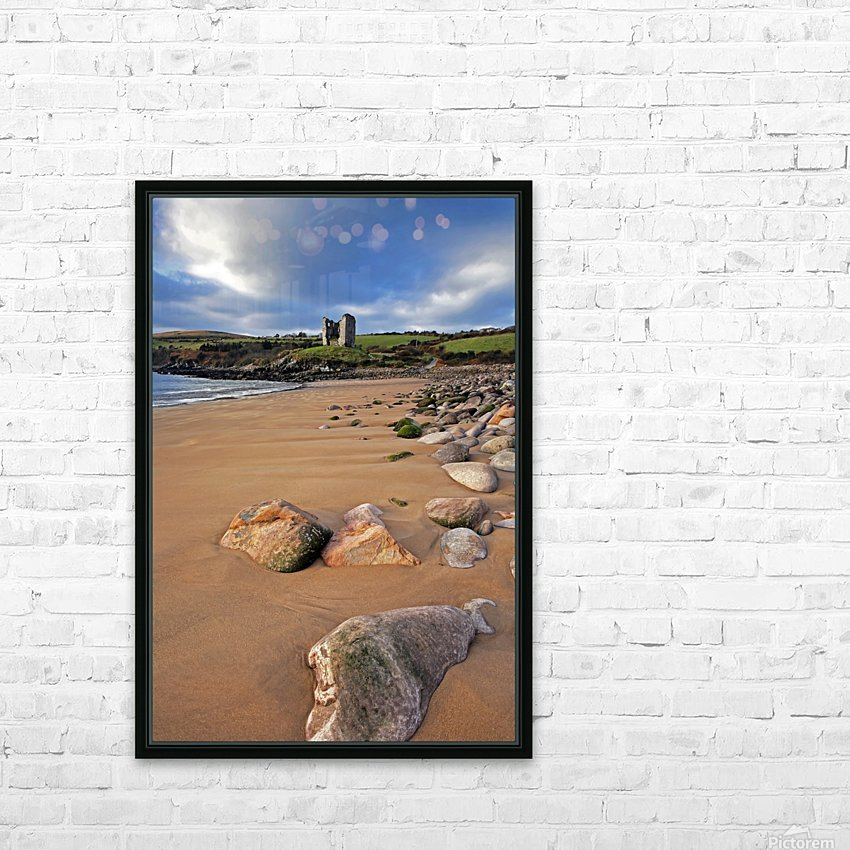 KY 218 Minard Castle HD Sublimation Metal print with Decorating Float Frame (BOX)