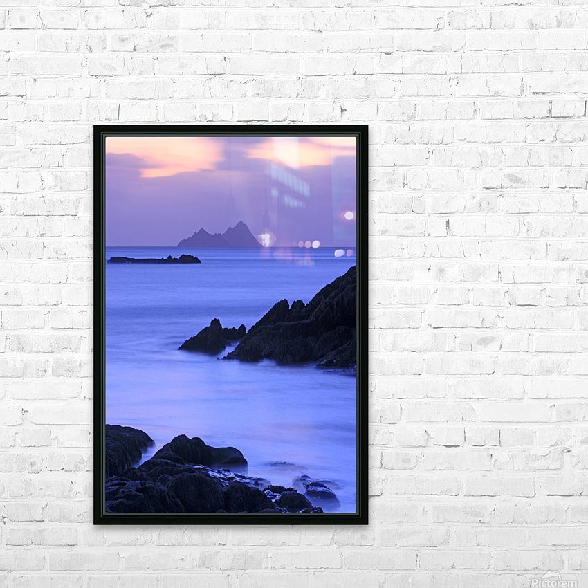 KY 281 Ballinskelligs Bay _1549666038.67 HD Sublimation Metal print with Decorating Float Frame (BOX)