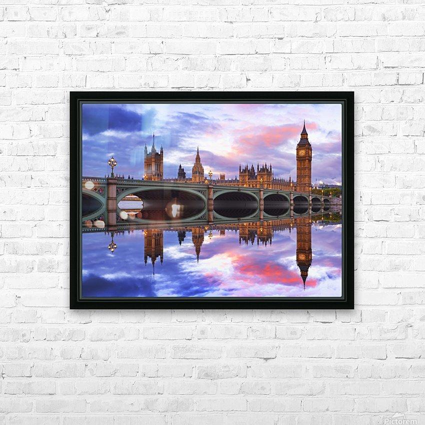 LON 005 Big Ben _1549702153.87 HD Sublimation Metal print with Decorating Float Frame (BOX)