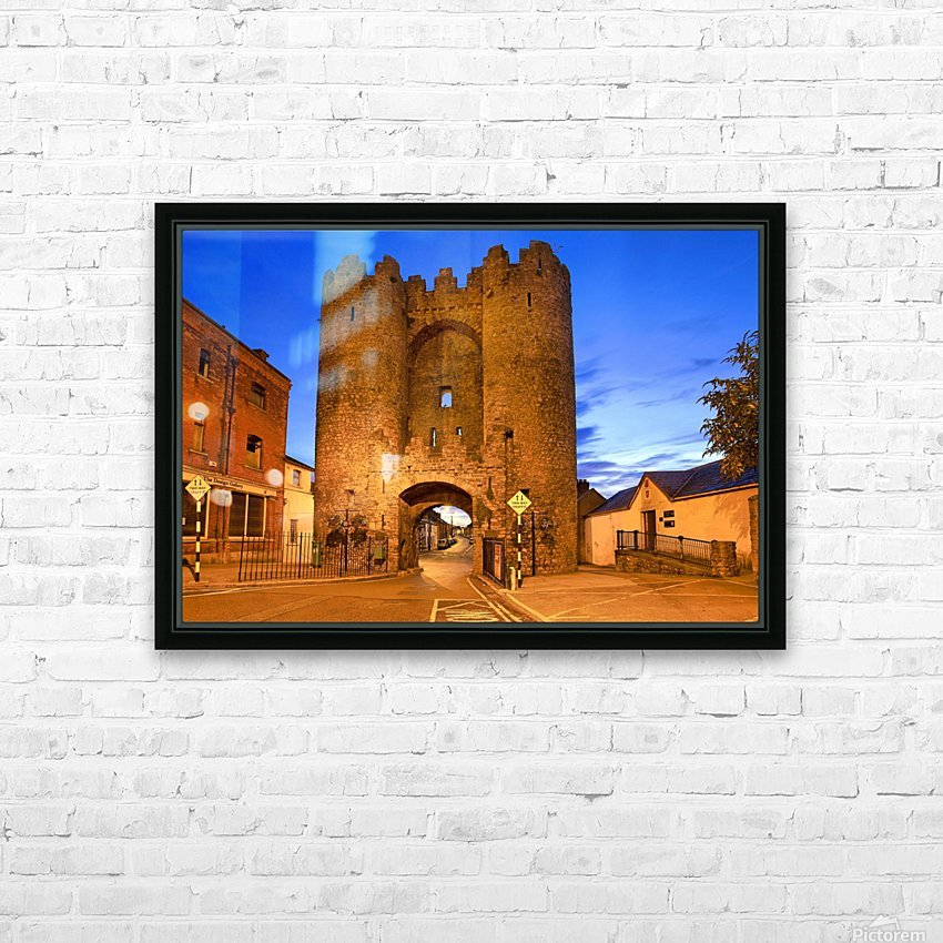 LH 034 St.Lawerence Gate HD Sublimation Metal print with Decorating Float Frame (BOX)
