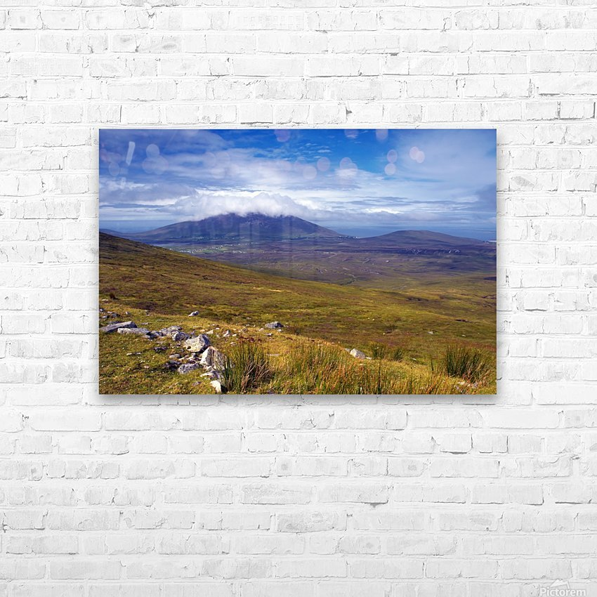 MO 054 Achill HD Sublimation Metal print with Decorating Float Frame (BOX)
