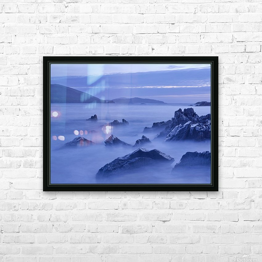C 649 Beara Twilight HD Sublimation Metal print with Decorating Float Frame (BOX)