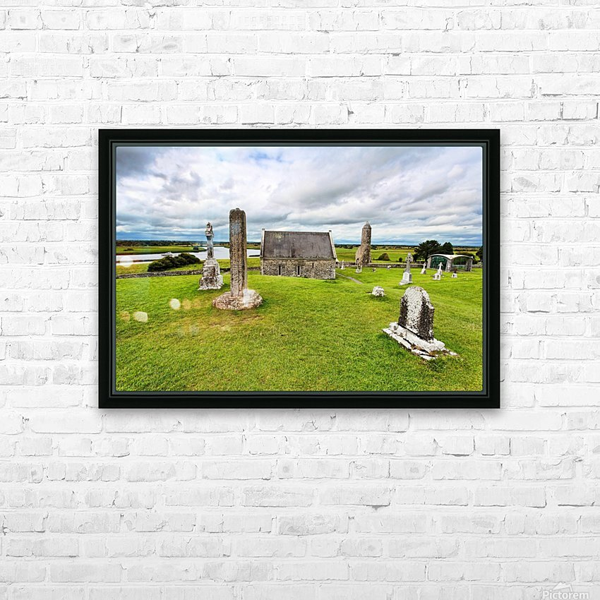 OY 002 Clonmacnoise HD Sublimation Metal print with Decorating Float Frame (BOX)