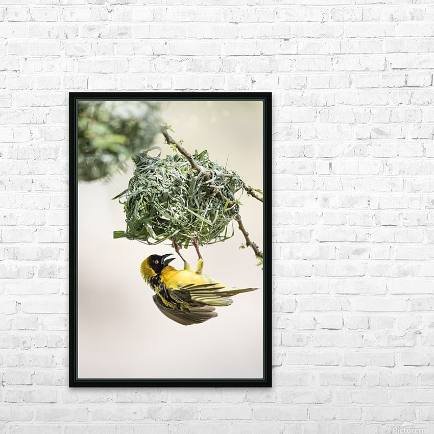 Anybody Home HD Sublimation Metal print with Decorating Float Frame (BOX)