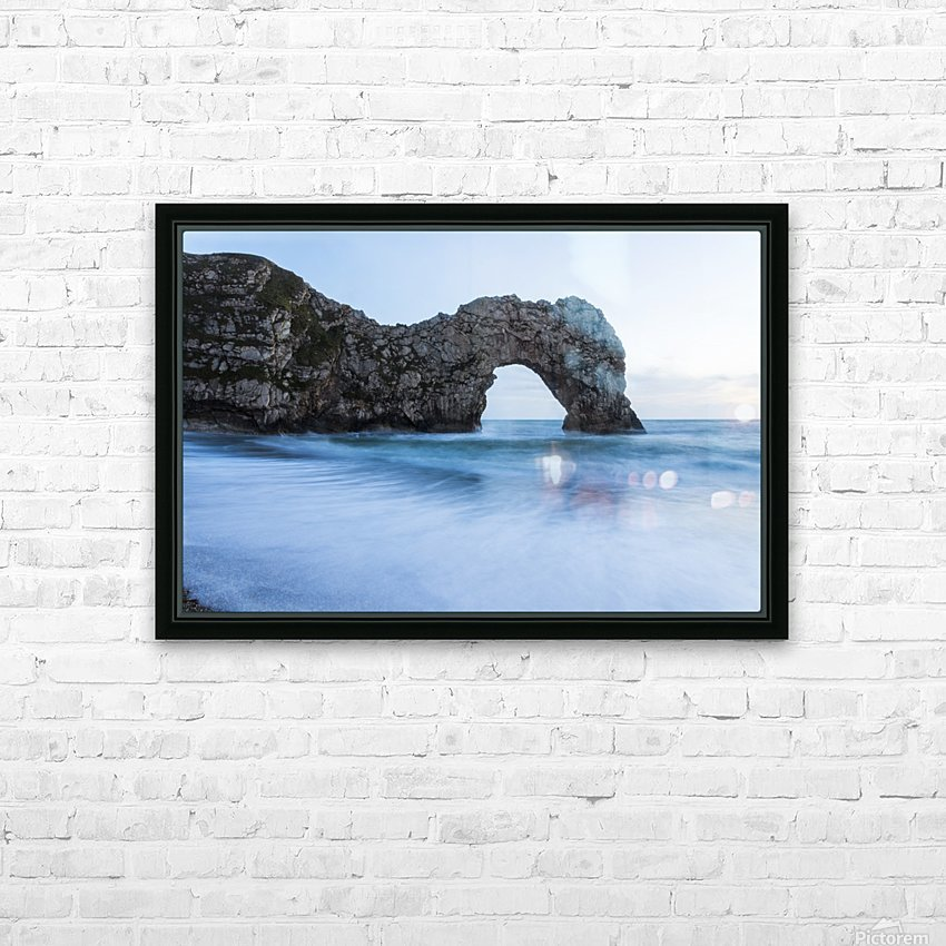 DURDLE DOOR DUSK 2. HD Sublimation Metal print with Decorating Float Frame (BOX)