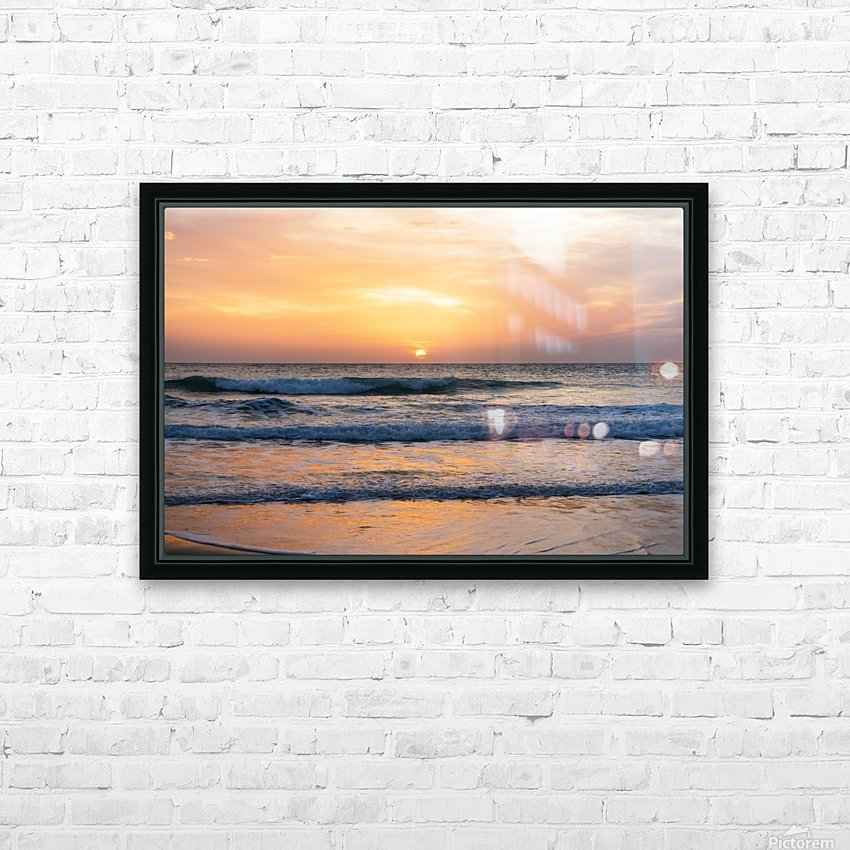 SUNSET AT EL PALMER HD Sublimation Metal print with Decorating Float Frame (BOX)