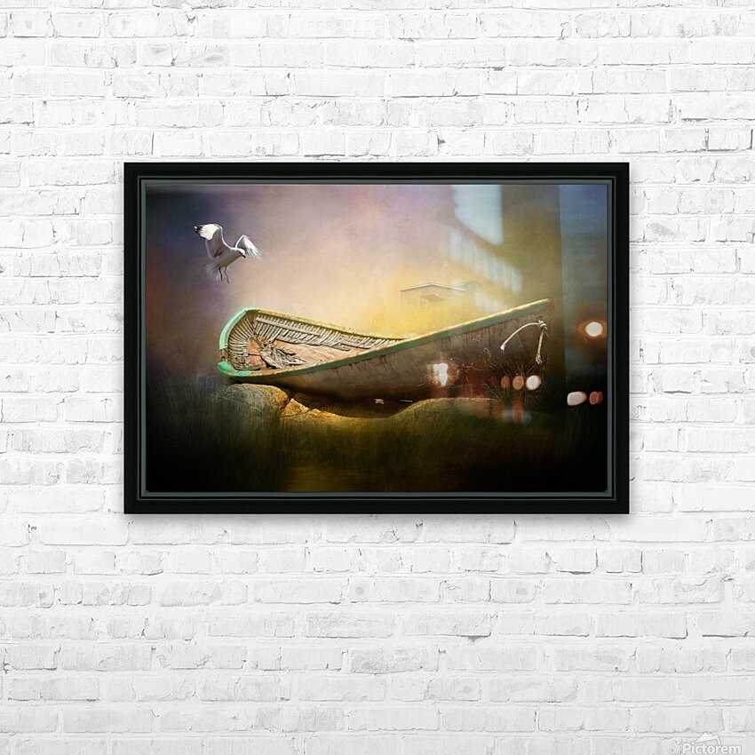 Old but not forgotten HD Sublimation Metal print with Decorating Float Frame (BOX)