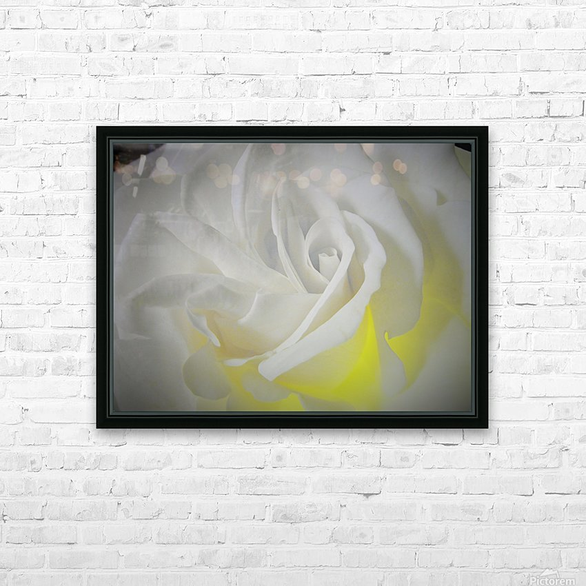 White Layers HD Sublimation Metal print with Decorating Float Frame (BOX)