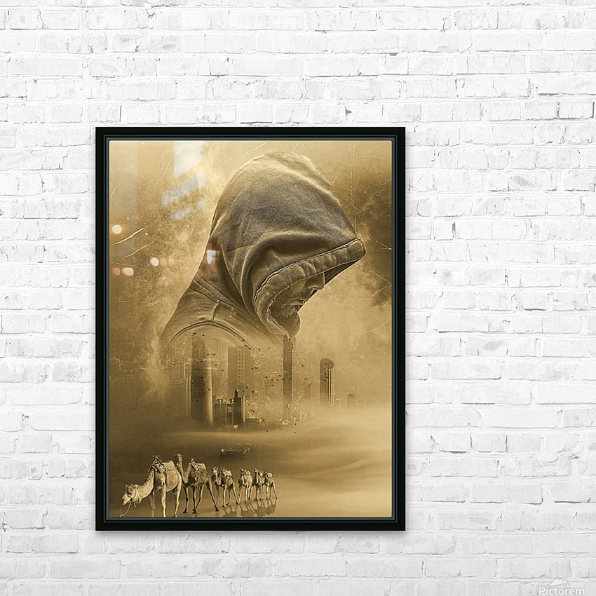The new dawn HD Sublimation Metal print with Decorating Float Frame (BOX)